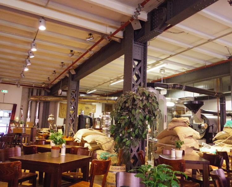 Speicherstadt-Kaffee-Hambourg