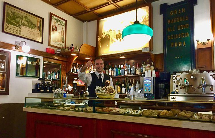 Sciascia Caffe à Rome, quartier du Prati