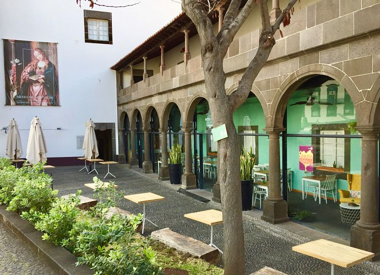 Cafe do Museo portugais (Madère)
