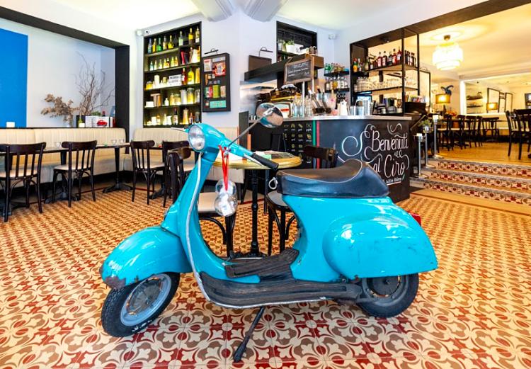 Café Ciro, rue de la Pompe