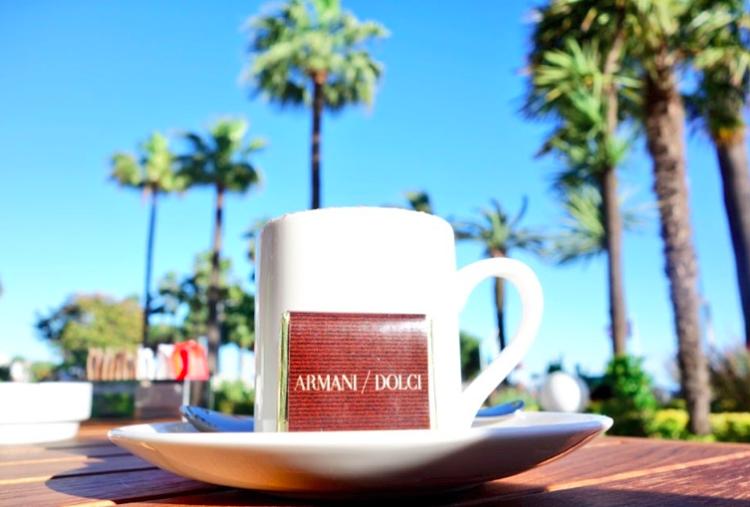 Armani Caffee à Cannes