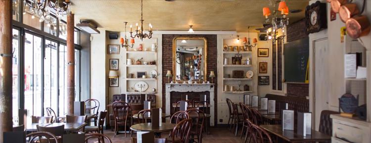 Un vieux Café rue d'Alésia