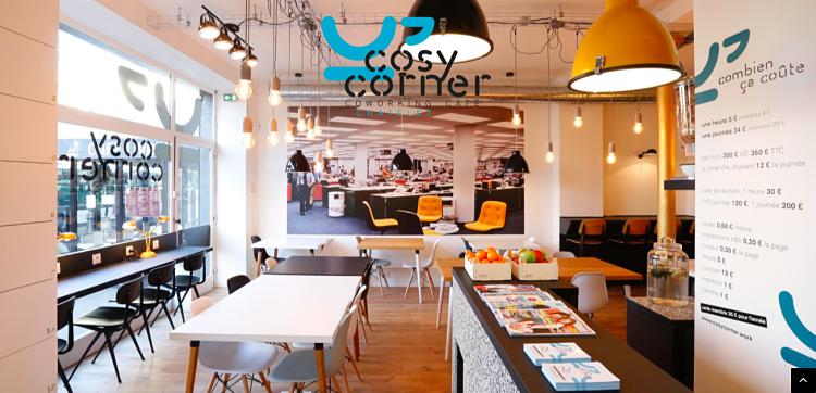 Cosy Corner, café de co-working