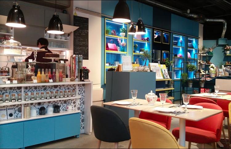 Boutique-salon de thé du Forum des Halles