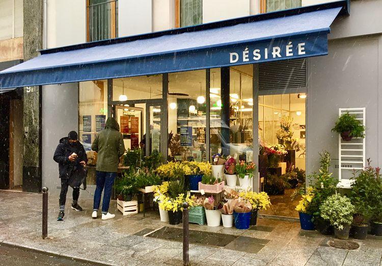 Cafe-fleuriste