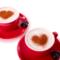 Valentin savoure son café