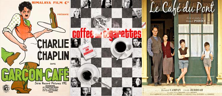 Films sur le thème des cafés