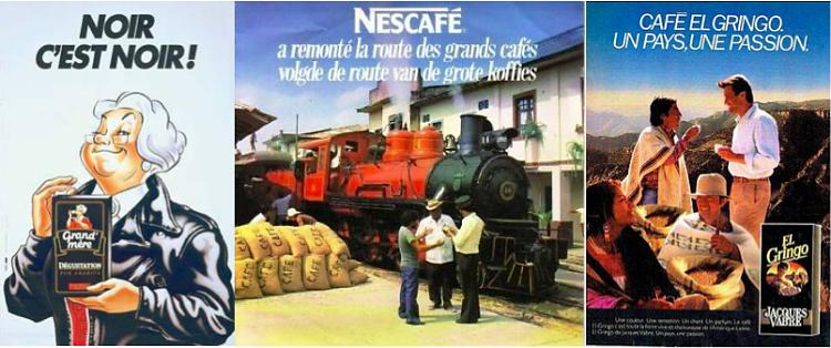 Publicités des années 80
